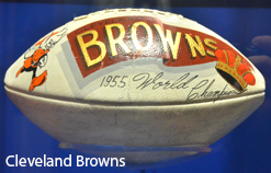Ball über die Championship der Cleveland Browns, 1955. Phot. Eric Drost. CC BY 2.0