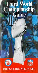 Super Bowl III Press Guide. Autor unbekannt. Gemeinfrei