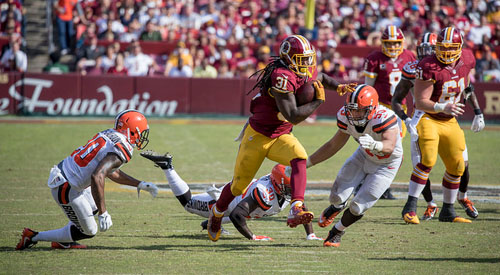 Browns at Redskins 2. Oktober 2016 Photo: Matt Jones CC BY-SA 2.0