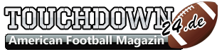 Logo des American Football-Magazins Touchdown24