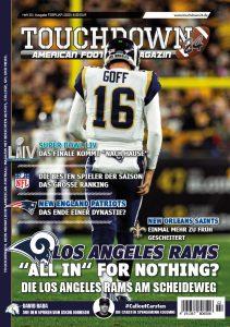 Cover der aktuellen Ausgabe von Touchdown24