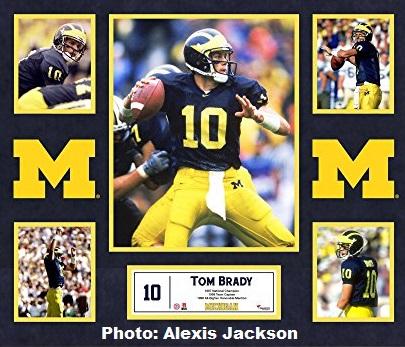Bradys Profibeginn war holprig. Hier zu sehen im Trikot der Michigan Wolverines.