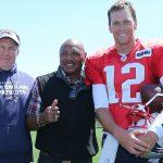 Brady und Belichick zuversichtlich vereint.
